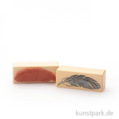 Judi-Kins Stamps - Feder - 3x8 cm