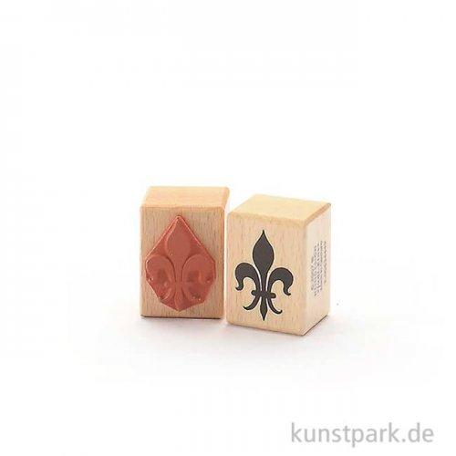 Judi-Kins Stamps - Fleur-de-Lis 2 - 3x4 cm
