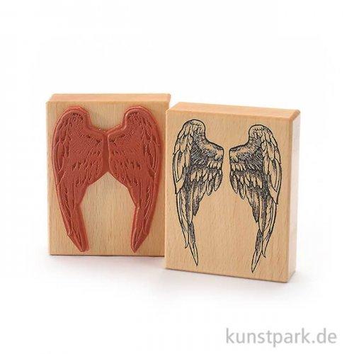 Judi-Kins Stamps - Flügel - 8x10 cm