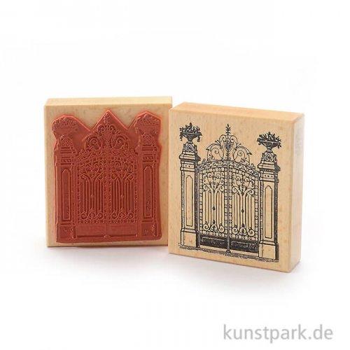 Judi-Kins Stamps - Großes Tor - 9x10 cm