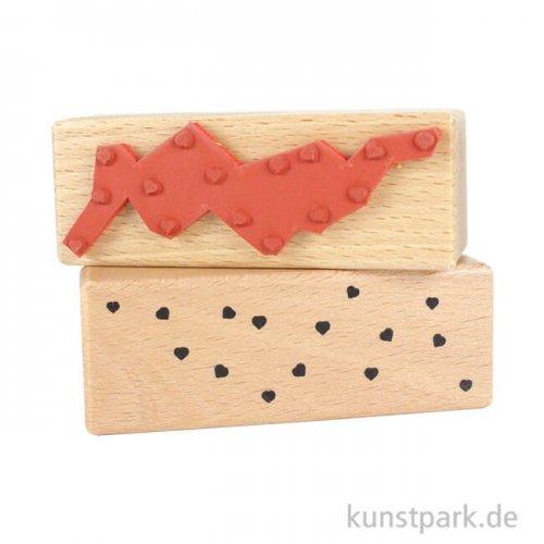 Judi-Kins Stamps - lauter kleine Herzchen - 3x8 cm