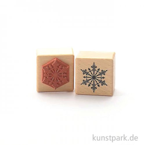 Judi-Kins Stamps - Hochland Schneeflocke II - 4x4 cm