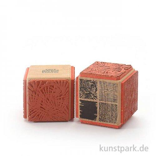Judi-Kins Stamps - Strukturen - Würfel