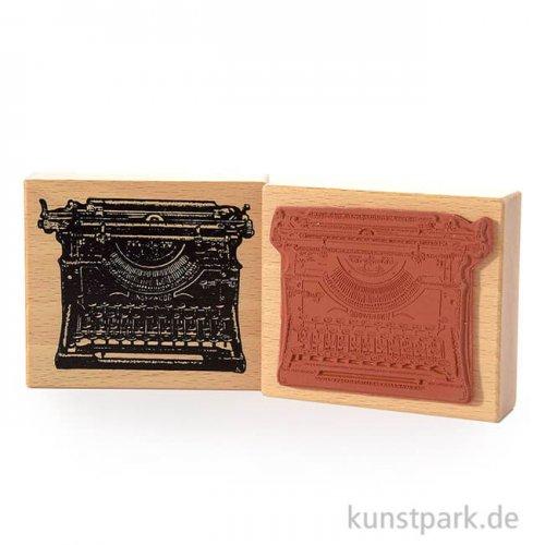 Judi-Kins Stamps - Schreibmaschine Underwood, 8 x 9 cm