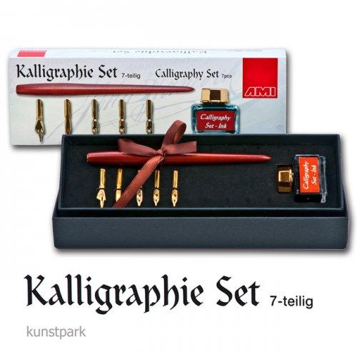 Kalligraphie-Set 7-teilig