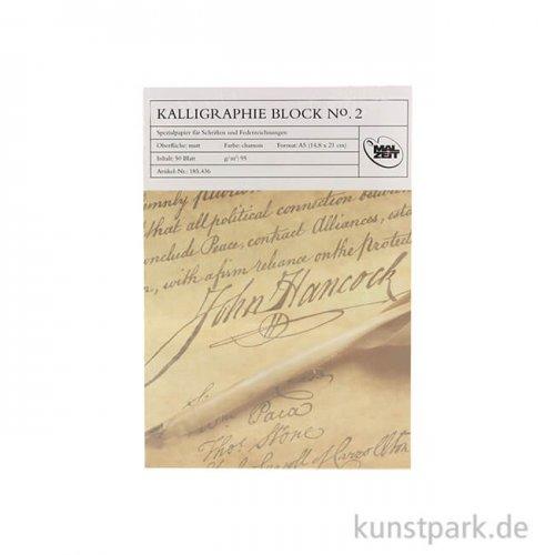 Kalligraphieblock No.2, 50 Blatt, 95 g DIN A5