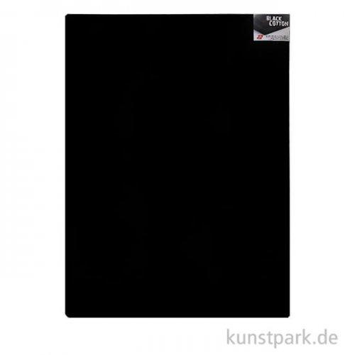 Keilrahmen schwarz - BLACK COTTON - 1,7 cm 70 x 100 cm **