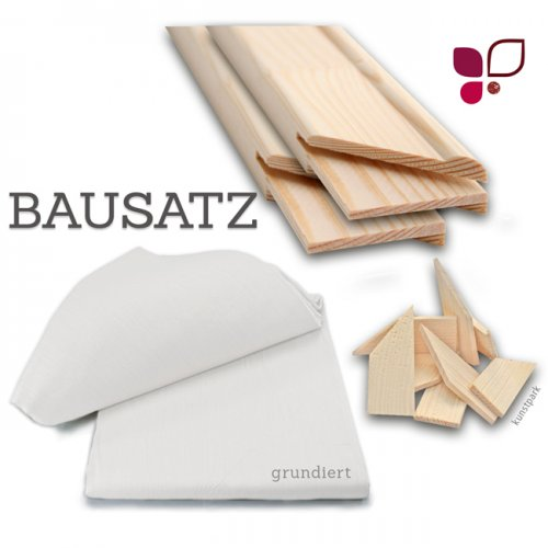 Keilrahmen XXL Bausatz - GALERIE - 2 cm