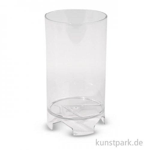 Kerzengießform - Zylindrisch Flach, 6 cm, Höhe 10,5 cm