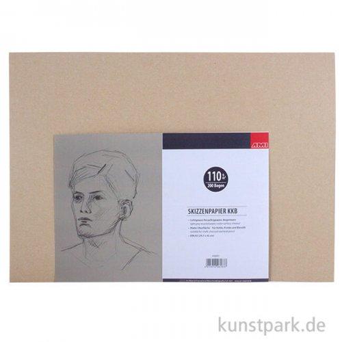 KKB Zeichenpapier Bogenware, 110 g