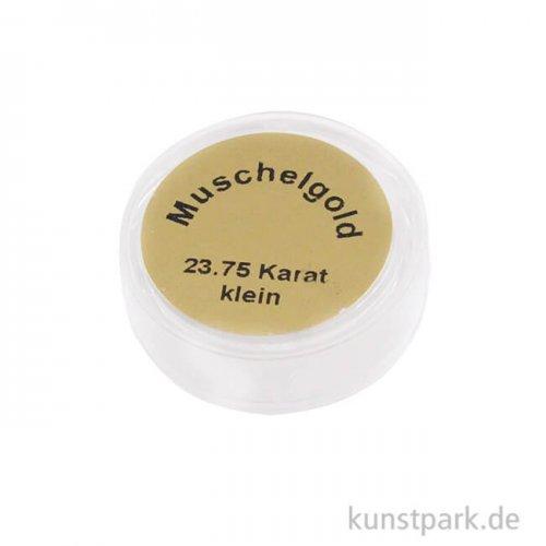Muschelgold 23,75 Karat wasserlöslich, klein