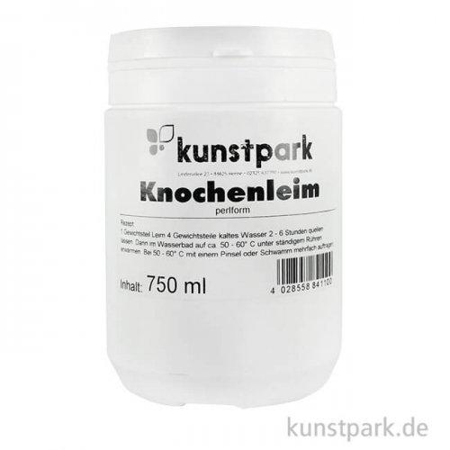 kunstpark Knochenleim perlform, Buchbinderleim 750 ml