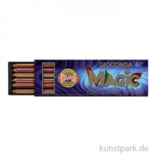 Koh-I-Noor Farbminen MAGIC, 5,6 mm, 6 Stück