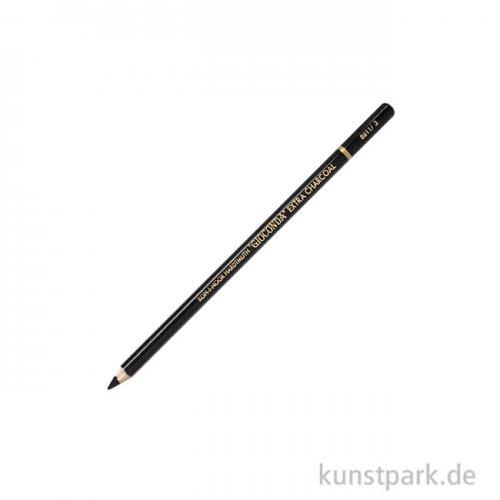 Koh-I-Noor Gioconda Reißkohle Stift, holzgefasst Mittel
