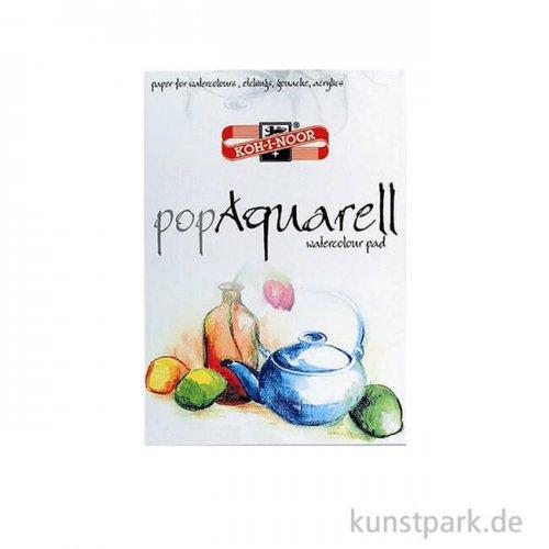 Koh-I-Noor - Pop Aquarell Papier, 10 Blatt Weiß, 250g DIN A4