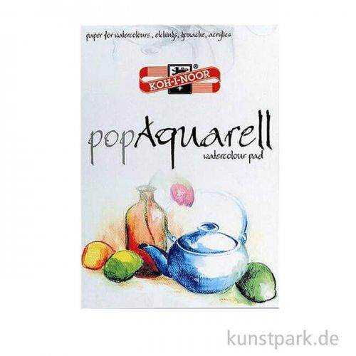 Koh-I-Noor - Pop Aquarell Papier, 10 Blatt Weiß, 250g