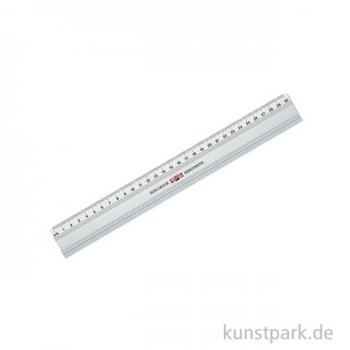 Koh-I-Noor Schneidelineal aus Metall 30 cm, rutschfest