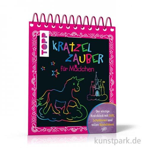 Kratzelzauber für Mädchen, Topp Verlag
