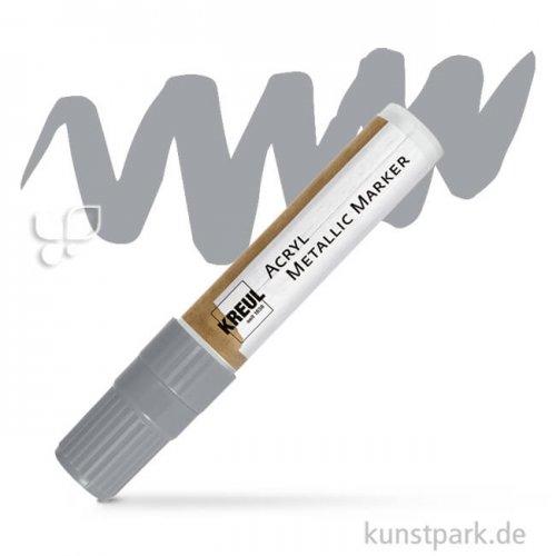 KREUL Acryl Metallic Marker 15 mm Einzelstift | Silber