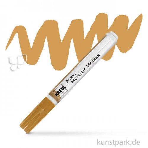 KREUL Acryl Metallic Marker 2-4 mm Einzelstift | Gold