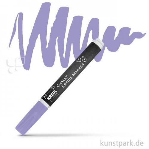 KREUL Chalky Kreidemarker Einzelfarbe | Dark Lavender