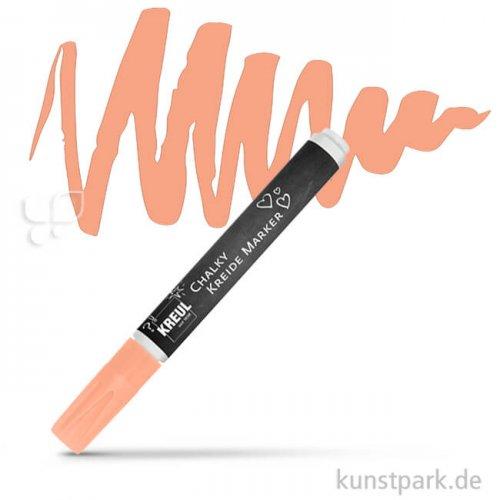 KREUL Chalky Kreidemarker Einzelfarbe | Frosty Apricot