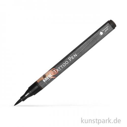 KREUL Tattoo Pen zum Tattoo selber malen Einzelstift   Schwarz