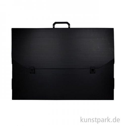 Künstler Transportmappe schwarz 48 x 69 x 4 cm