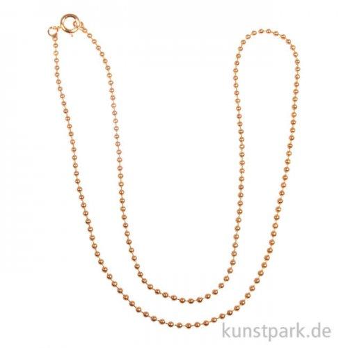 Kugelkette - Gold, verschiedene Längen