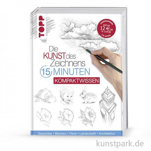 Kunst des Zeichnens 15 Minuten - Kompaktwissen, Topp Verlag