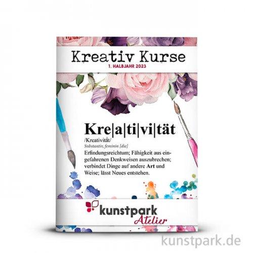 kunstpark Kreativkurse 1. Halbjahr 2021, Katalog