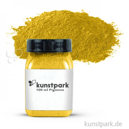 kunstpark Pigment 100 ml | Tagesleuchtfarbe Gelb