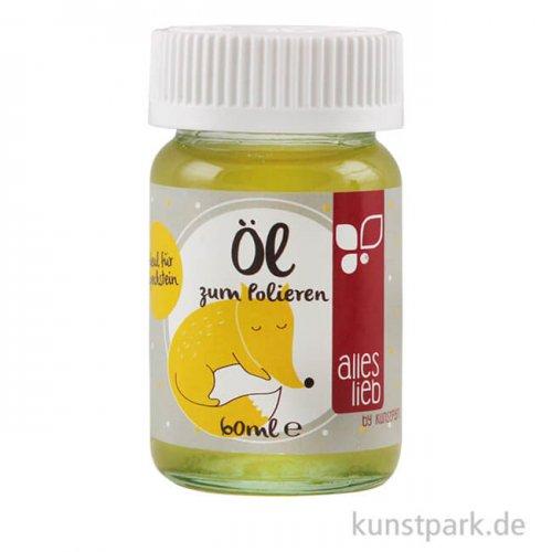 kunstpark Speckstein-Öl zum Polieren, 60 ml