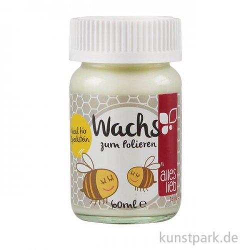 kunstpark Speckstein-Wachs zum Polieren, 60 ml