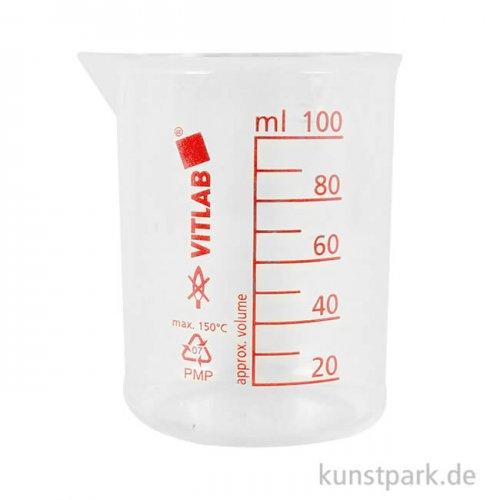 Labor Mess- und Mischbecher mit Skala 100 ml