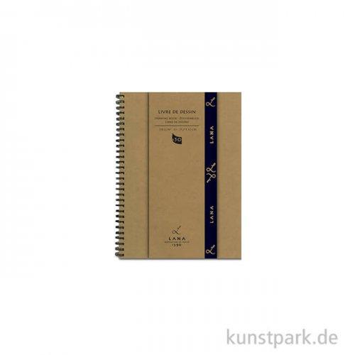 Lana LIVRE DE DESSIN Skizzenbuch, 50 Blatt, 150g, spiral DIN A5