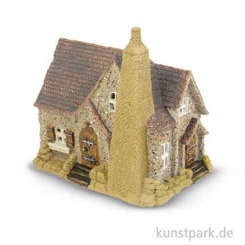 Miniatur Landhaus - Alte Kate, 19 cm