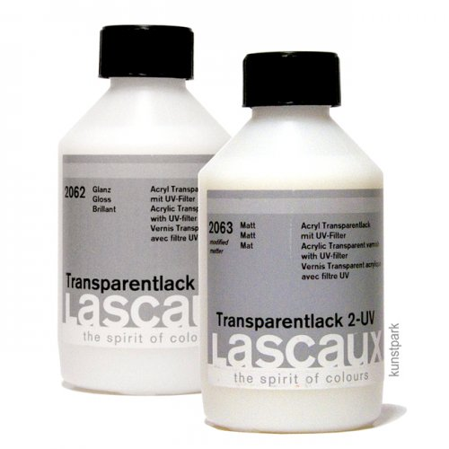 Lascaux Acryl Transparentlack - UV Protect, 250 ml 1-glänzend