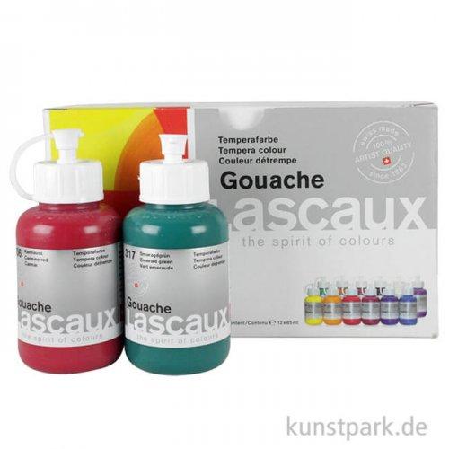 Lascaux GOUACHE Malbox 12 x 85 ml