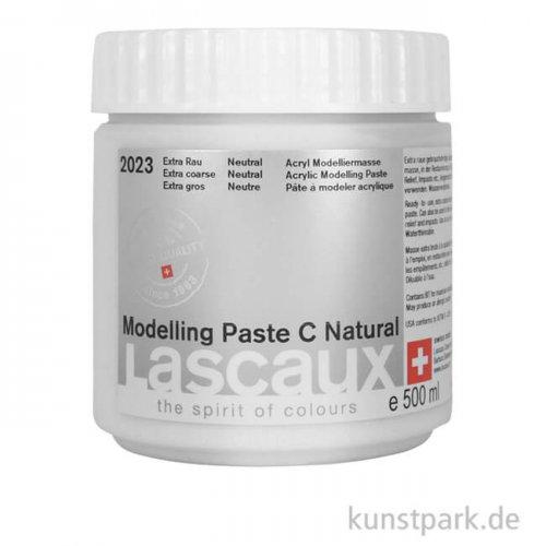 Lascaux Modelling Paste C Natural - extra rau rauh