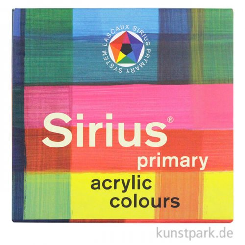 Lascaux SIRIUS Acryl-Set mit 7 x 85 ml