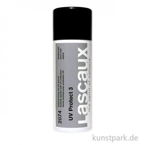 Lascaux Sprühfirnis 400 ml - UV Protect 3 Seidenmatt