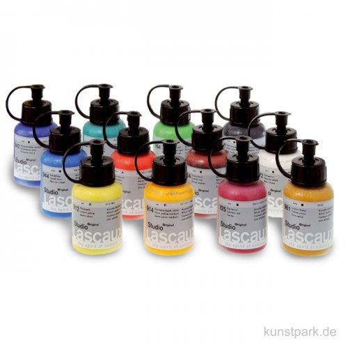 Lascaux STUDIO Acryl-Set mit 12 x 85 ml