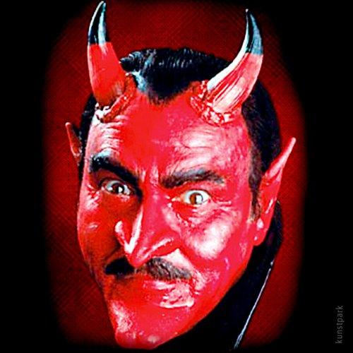 Latex Maske Teufel