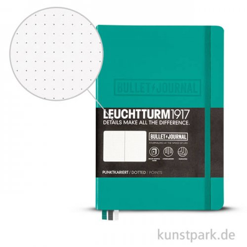 Leuchtturm 1917 Bullet Journal  Hardcover - Türkis - A5