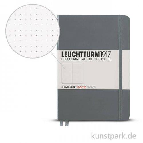 Leuchtturm Notizbuch Hardcover - Anthrazit - Dotted
