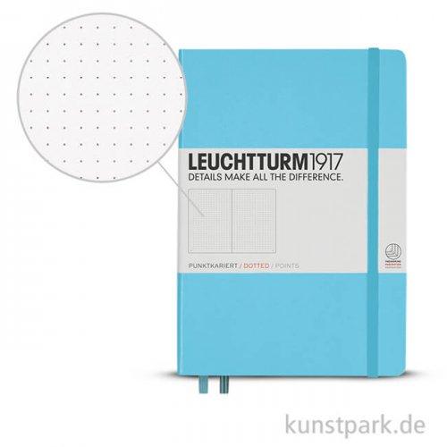 Leuchtturm Notizbuch Hardcover - Eisblau - Dotted
