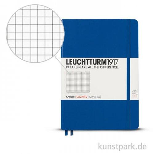 Leuchtturm Notizbuch Hardcover - Königsblau - Kariert