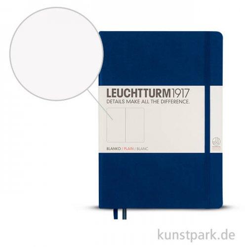 Leuchtturm Notizbuch Hardcover - Marine - Blanko