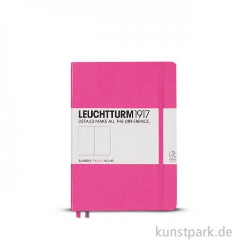 Leuchtturm Notizbuch Hardcover - New Pink - Blanko Pocket A6 - 185 Seiten